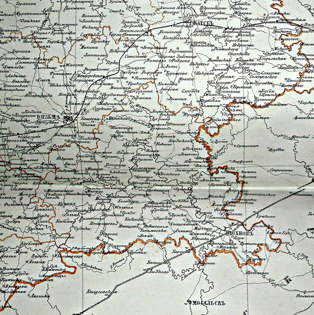 Гжатский Тракт Карта